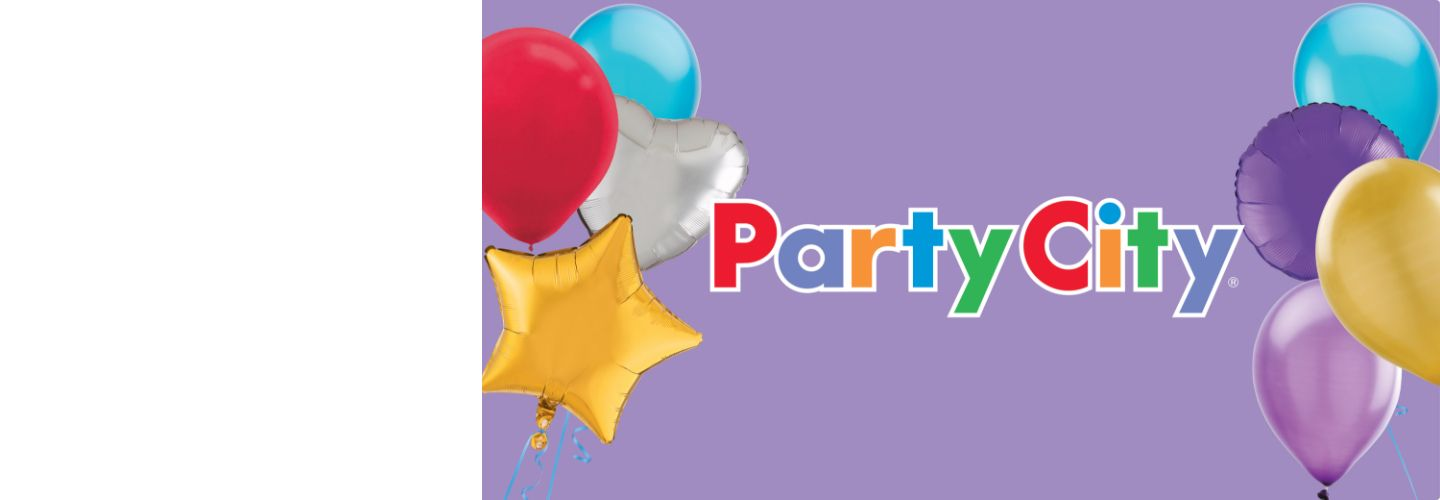 Brighten Your Celebration  Party City is now at your local Canadian Tire store.*  SHOP NOW  *at participating stores