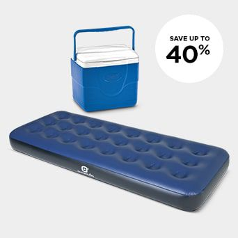 SAVE UP TO 40% Shop Camping