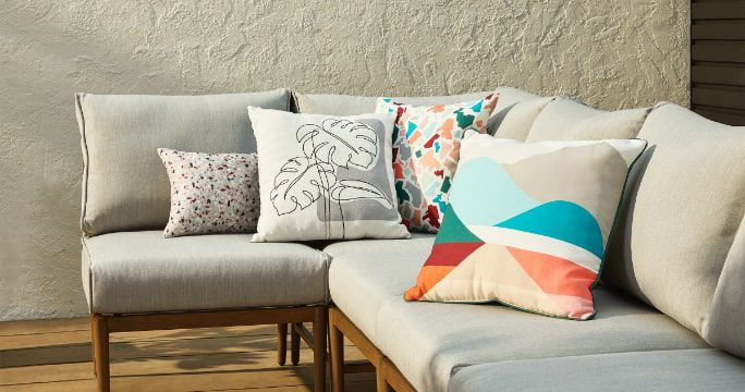 Patio Cushions  Add comfort and style to your outdoor furniture with patio cushions and seat pads.  SHOP NOW