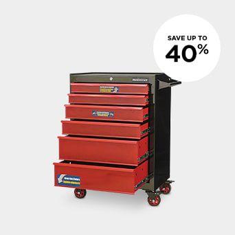 SAVE UP TO 40% Shop Garage Organization