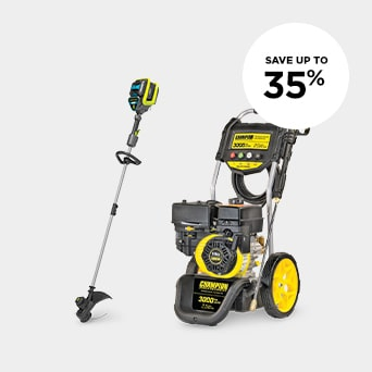 SAVE UP TO 35% Shop Outdoor Tools