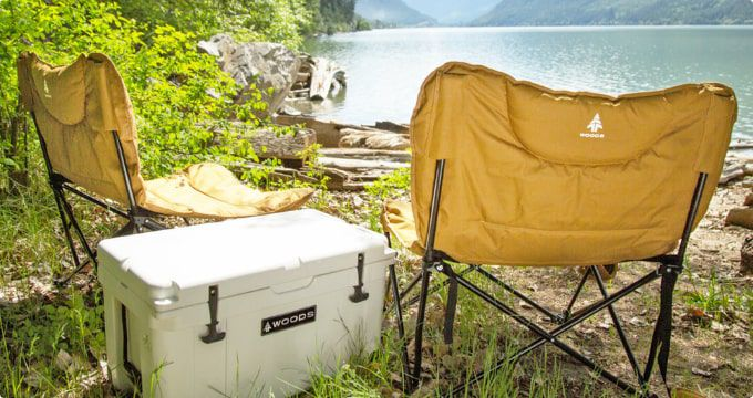 Camping Chairs  Stay comfortable and enjoy the outdoors with folding camping chairs you can take anywhere.  SHOP NOW