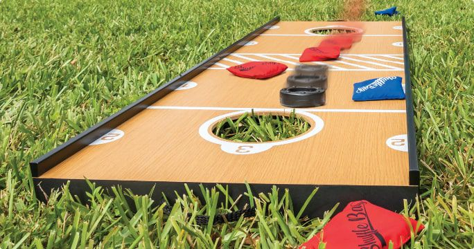 Lawn Games  Enjoy endless hours of fun outdoors with our selection of lawn games, from bocce ball to toss games and more.  SHOP NOW