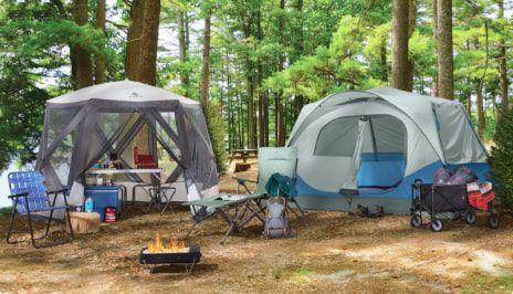 Camping  Profitez de vos vacances d'été à l'aide d'articles indispensables pour le camping : tentes, sacs de couchage, etc.  MAGASINEZ