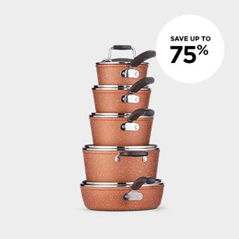 SAVE UP TO 75% Shop Kitchen