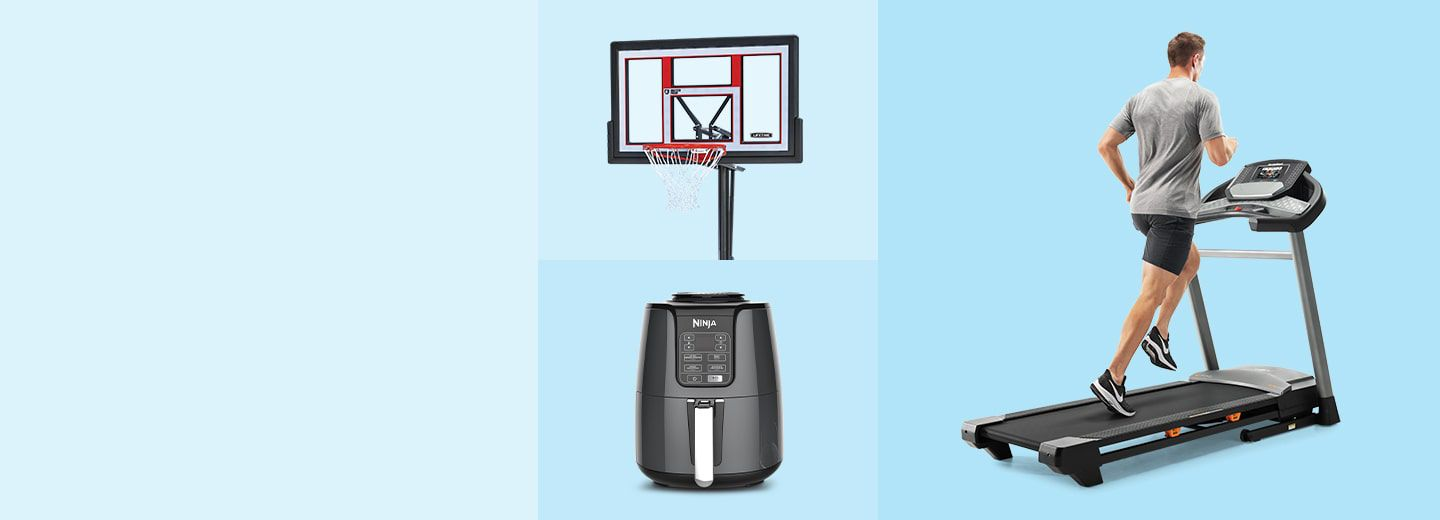SAVE UP TO 50% ON TOP ESSENTIALS  Explore hot deals for kitchen, exercise, outdoor fun and more must-have items.