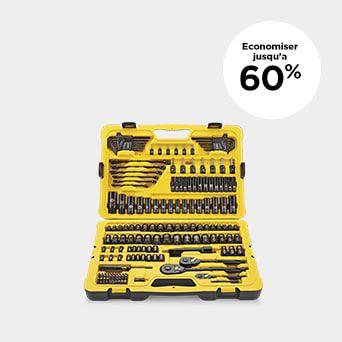 JUSQU'À 60 % DE RABAIS Magasinez les outils et la quincaillerie