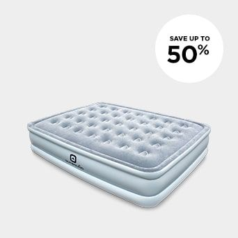 SAVE UP TO 50% Shop Camping