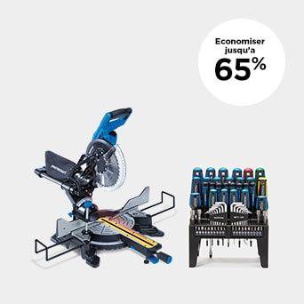 JUSQU'À 65 % DE RABAIS Magasinez les outils et la quincaillerie