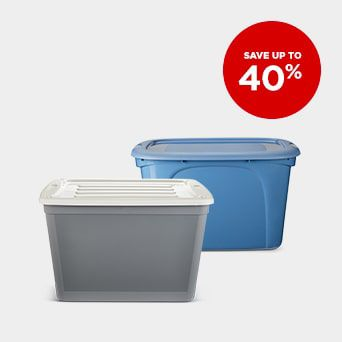 Save up to 40% Shop Home Organization