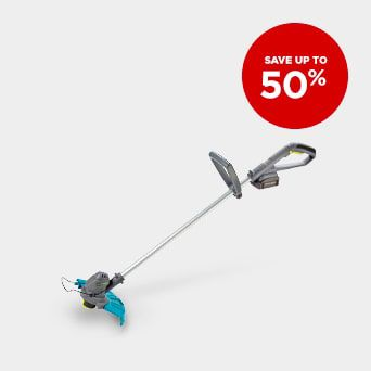 Save up to 50% Shop Outdoor Tools