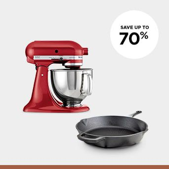 Save up to 70% Shop Kitchen