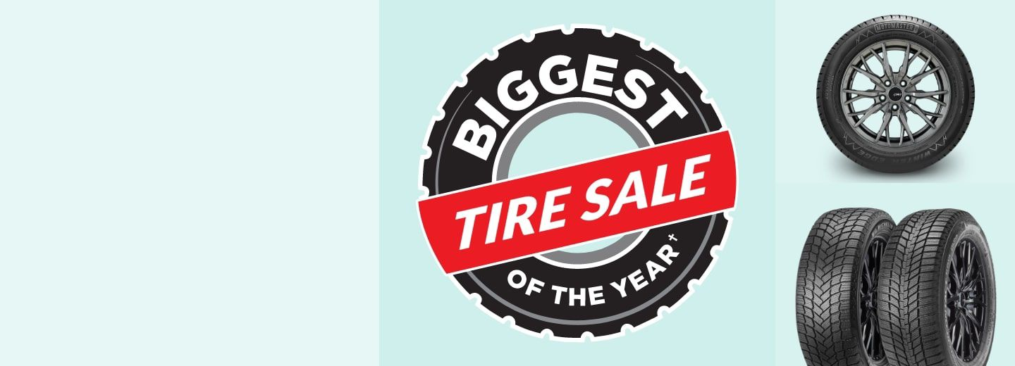 """""""SAVE UP TO 25%  Get your vehicle ready to hit the road with deals on top tire brands including Michelin, Bridgestone, Goodyear and Continental."""""""