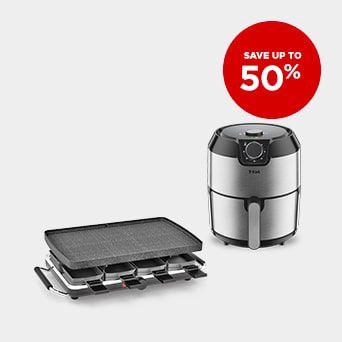 SAVE UP TO 50% Shop Kitchen Appliances