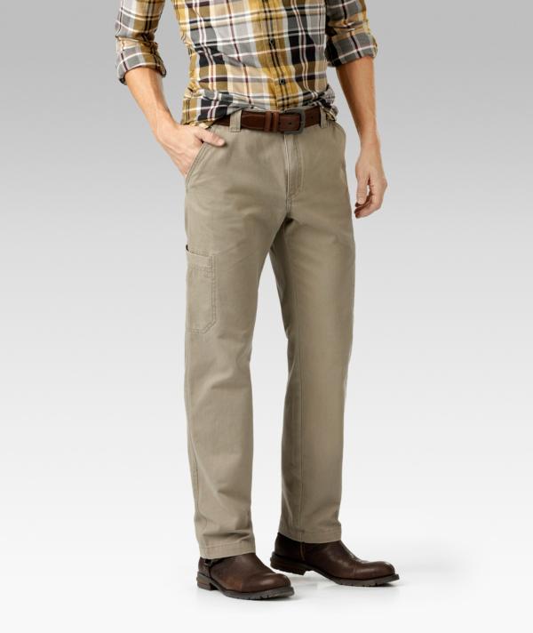 Denver Hayes Vintage Slim Leg Cargo Pants