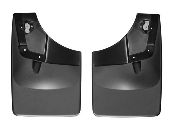 WeatherTech No Drill Custom Rear Mud Flaps, 2-pc Product image