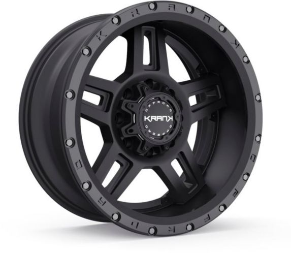 Krank Hammer Wheel, Gloss Black Machined Product image