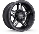 Krank Hammer Wheel, Gloss Black Milled | Kranknull