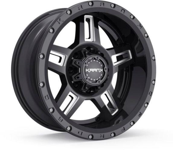 Krank Hammer Wheel, Gloss Black Milled Product image