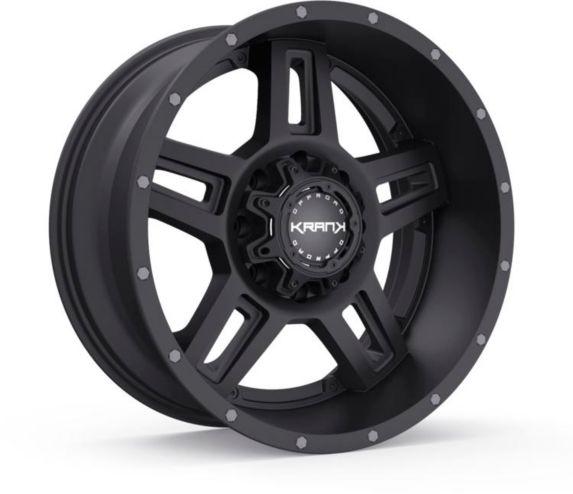 Krank Hammer Wheel, Satin Black Product image