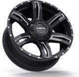 Krank Caliper Wheel, Gloss Black Machined | Kranknull