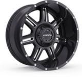 Krank Force Wheel, Gloss Black Milled | Kranknull