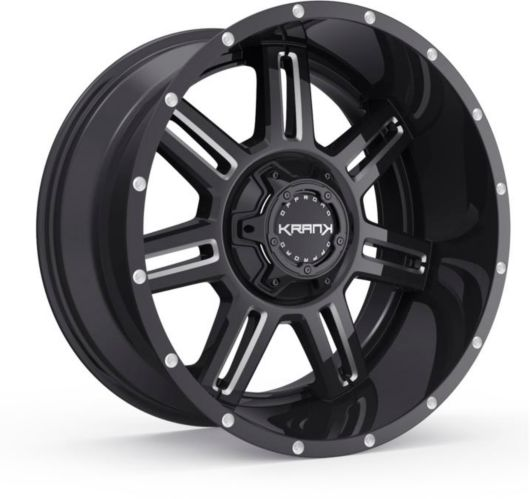 Krank Force Wheel, Gloss Black Milled Product image