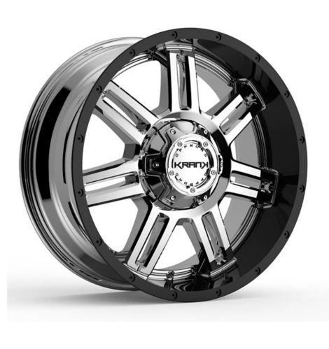 Krank Force Wheel, Chrome Gloss Black Barrel Product image