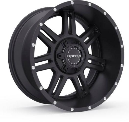 Krank Force Wheel, Satin Black Product image