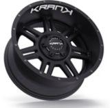 Krank Force Wheel, Satin Black   Kranknull