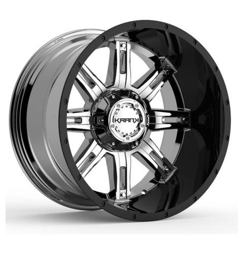 Krank Shaft Wheel, Chrome Gloss Black Barrel Product image