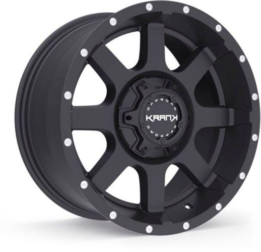 Krank Slick Wheel, Satin Black Product image