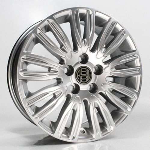 RSSW Delta Direct Fit Alloy Wheel, Hyper Silver Product image
