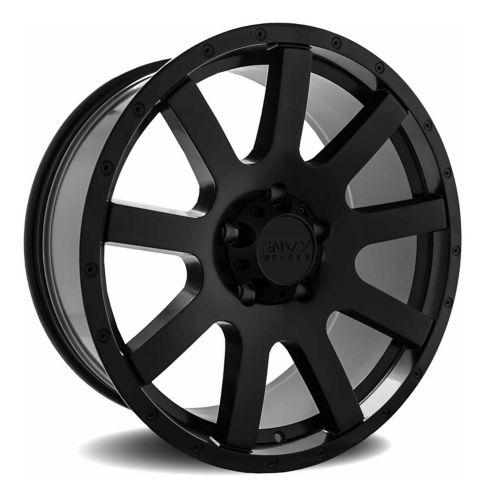 Envy Craze ET-3 Alloy Wheel, Satin Black Product image