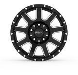 Envy Craze ET-3 Alloy Wheel, Gloss Black with Side Mill | Envy | Canadian Tire