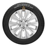 AutoTrends Wheel Cover, 1044, Silver/Lacquer, 17-in, 4-pk | KTnull