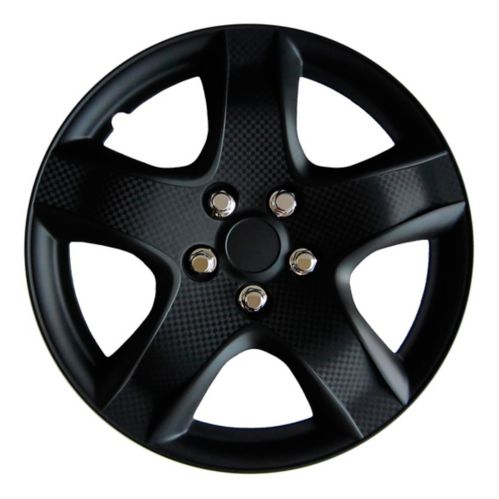 AutoTrends Wheel Cover, 998, Matte Black, 17-in, 4-pk Product image