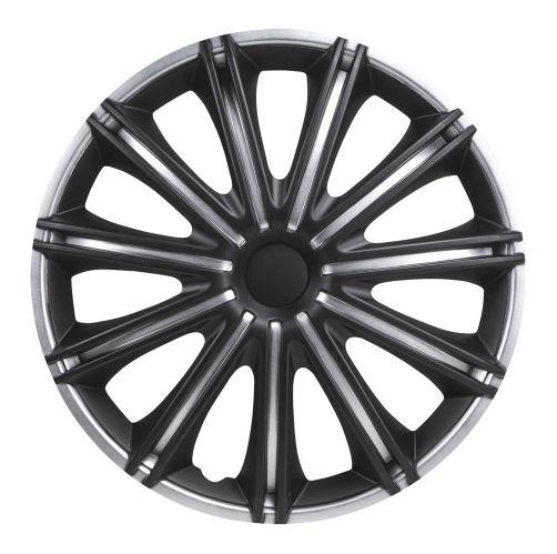 Enjoliveur de roue DriveStyle Nero, argent/noir, 18 po, paq. 4 Image de l'article