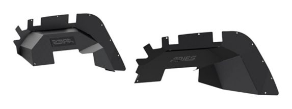 ARIES Front Jeep JL Inner Fender Liners Product image