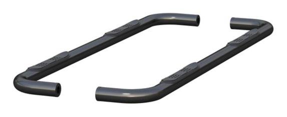 Barres latérales en acier noir semi-lustré ARIES, 3 po Image de l'article