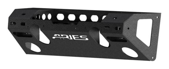 ARIES TrailChaser Jeep JL Gladiator Aluminum Front Bumper Product image