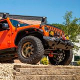ARIES TrailChaser Jeep JL Gladiator Aluminum Front Bumper | ARIESnull