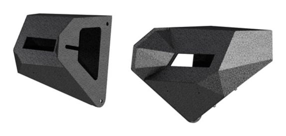 ARIES TrailChaser Jeep Wrangler JL, Gladiator Steel Front Bumper Corners Product image