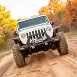 ARIES TrailChaser Jeep Wrangler JL, Gladiator Steel Front Bumper Corners | ARIESnull