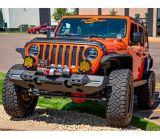 Pare-chocs avant ARIES TrailChaser avec élargisseurs d'aile (option 7), Jeep JL | ARIESnull