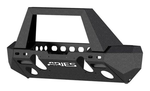 Pare-chocs avant ARIES TrailChaser, Jeep JL (option 2) Image de l'article
