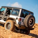 ARIES TrailChaser Jeep JL Steel Rear Bumper with LEDs   ARIESnull