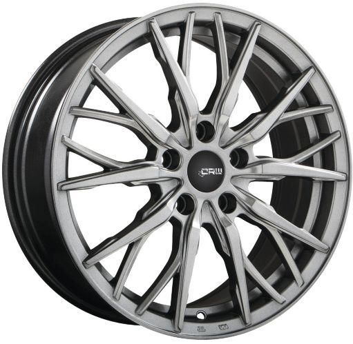CRW GT1 Alloy Wheel, Gunmetal Grey