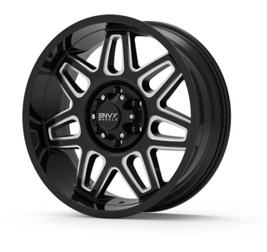 Envy ET-2 Alloy Wheel, Black/Milled Product image