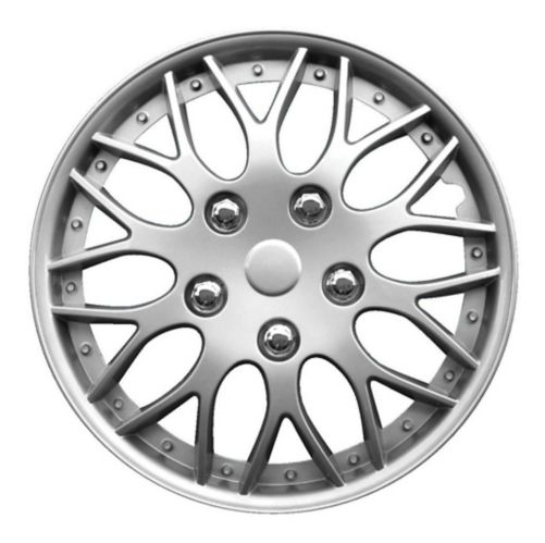 AutoTrends Wheel Cover, 970, Silver/Lacquer, 15-in, 2-pk Product image